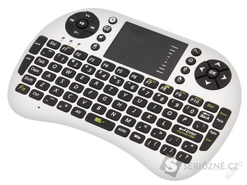 Mini bezdrátová klávesnice s TouchPadem