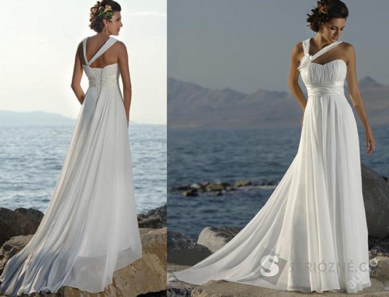 Luxusní nové svatební šaty