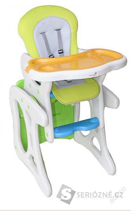 Jídelní a hrací stolek s křesílkem