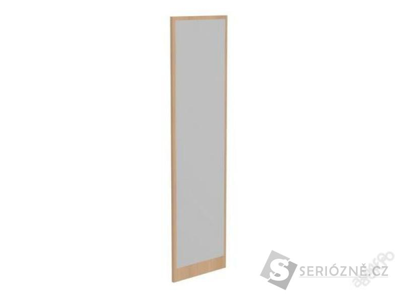 Zrcadlo na zeď 150 x 40 cm s rámem