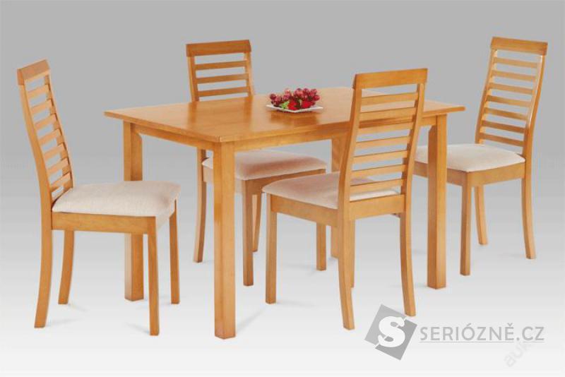 Jídelní set dřevěný stůl + 4 židle