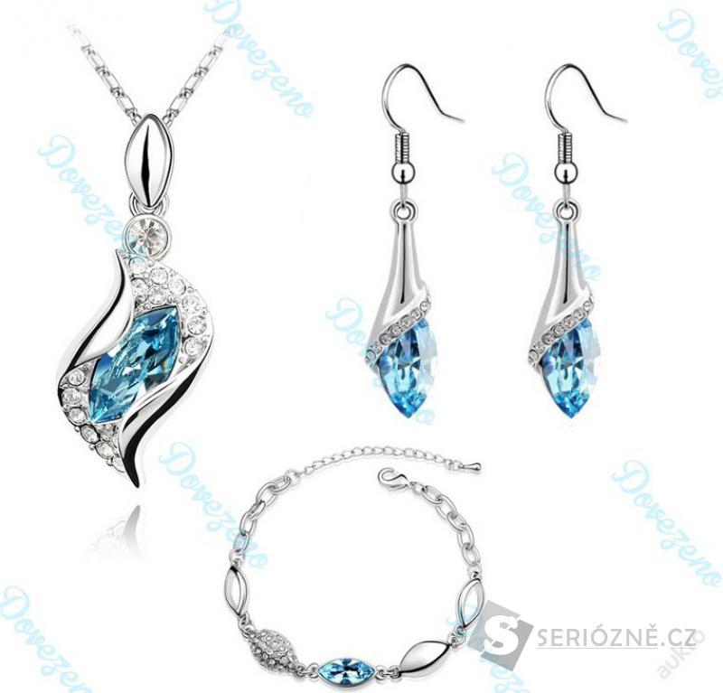 Náušnice, náhrdelník a náramek!
