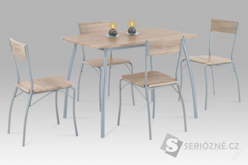 Jídelní set + 4 židle