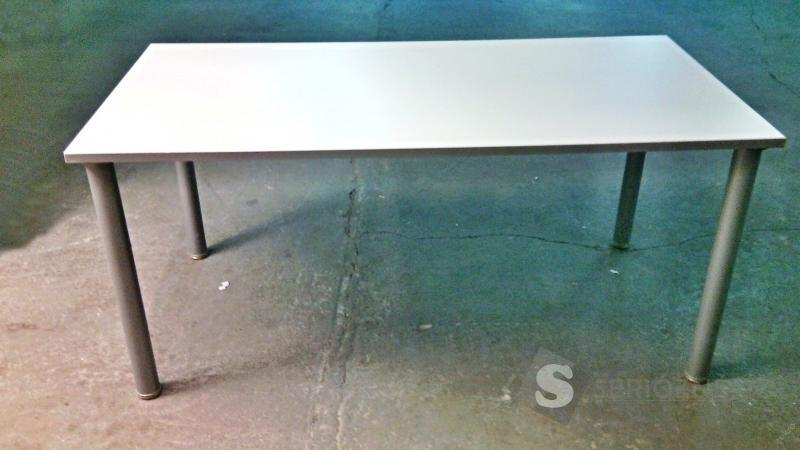 Kancelářský stůl - šedý (160x80cm)