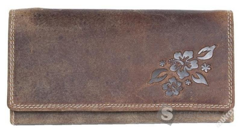 Kožená peněženka z přírodní kůže