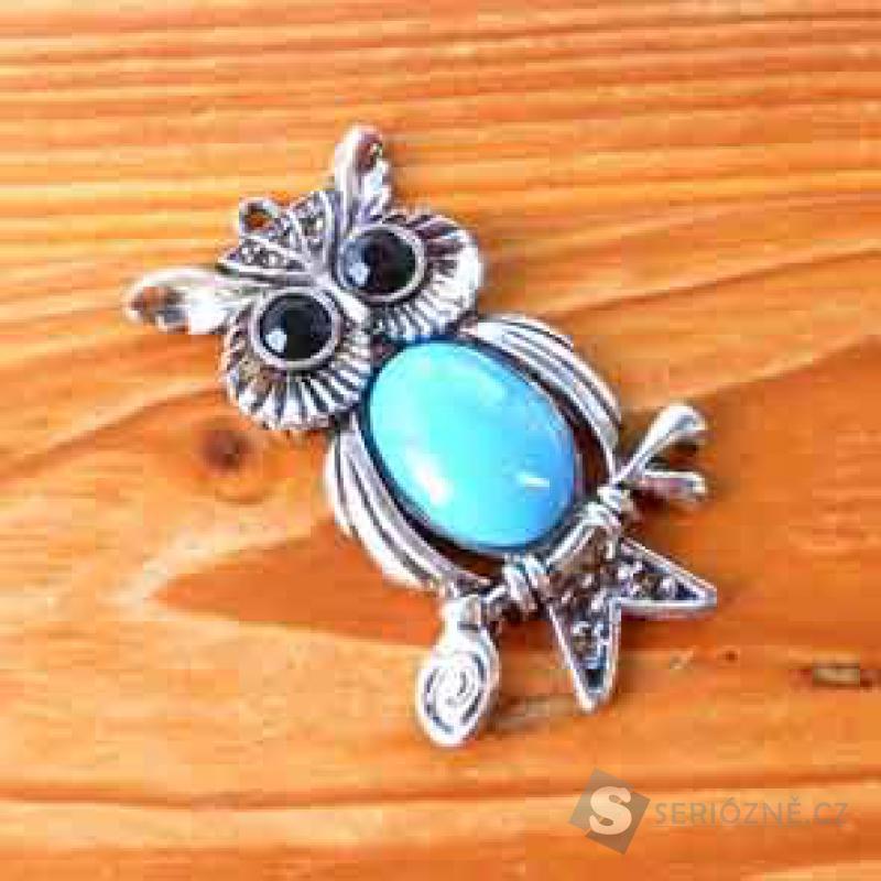 Přívěšek - Tibetské Stříbro