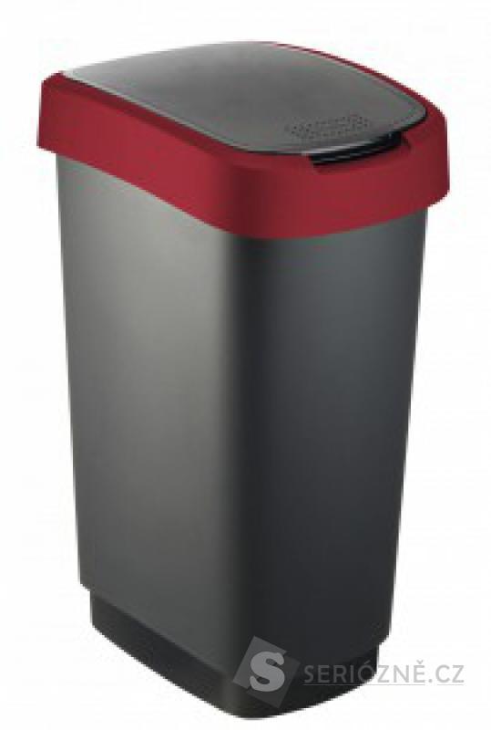 Odpadkový koš Rotho Twist, 50 l