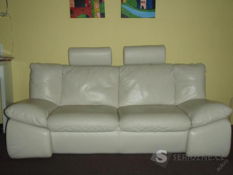 Kožená sedačka - sedací souprava