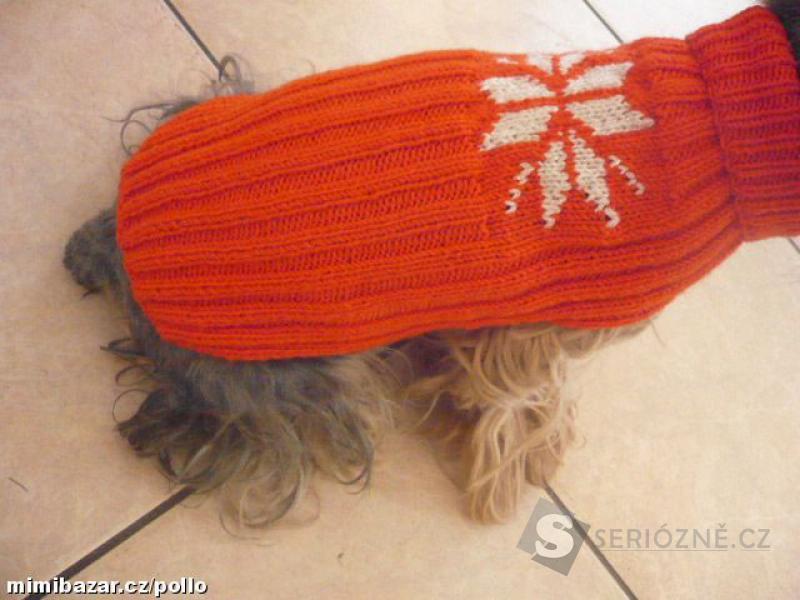 Originální obleček/svetr pro pejska