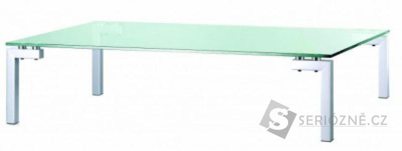 Konferenční stolek - skleněný