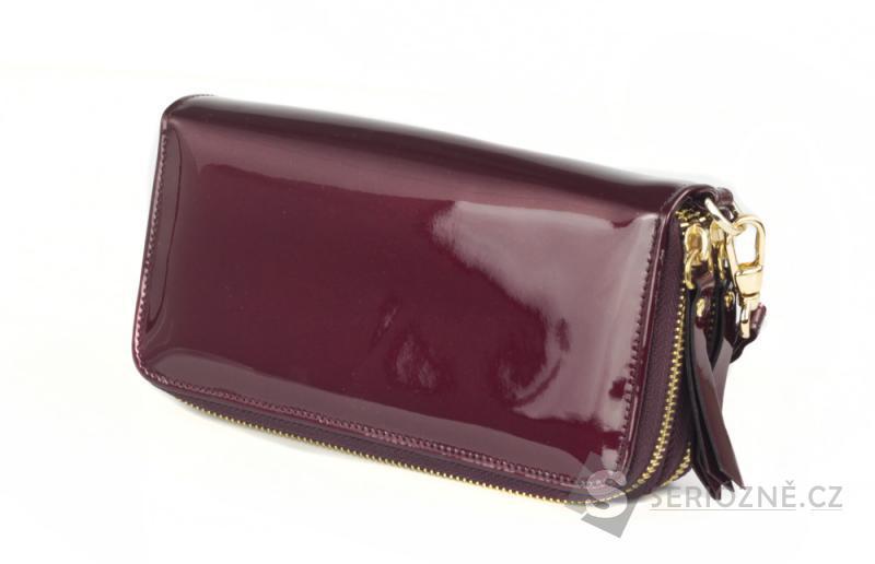 Elegantní dámská PRAVÁ KOŽENÁ peněženka