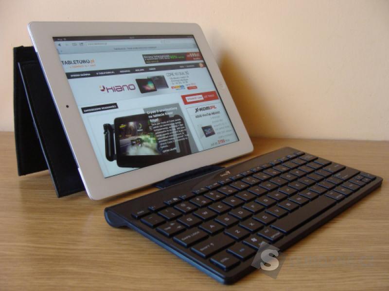 Bluetooth klávesnice keyboard Genius LuxePad iPad