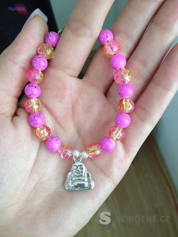 Krásný Budha náramek!