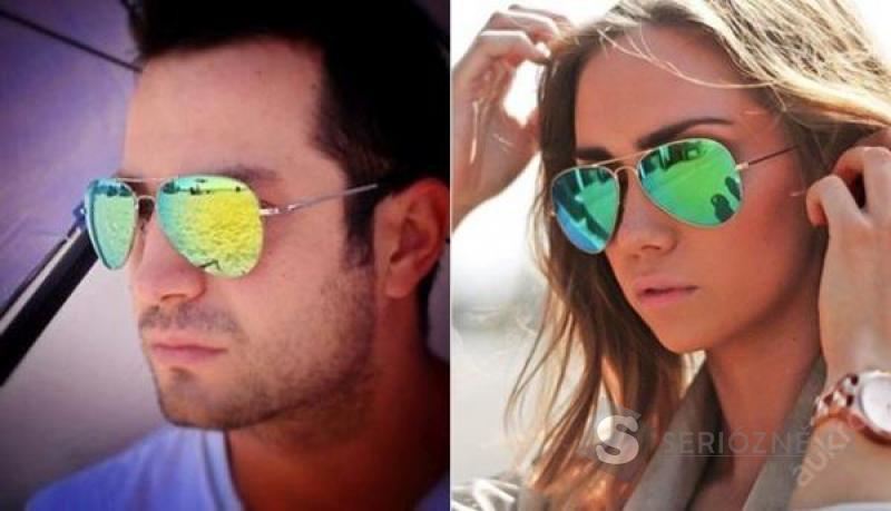 Pilotky - sluneční brýle