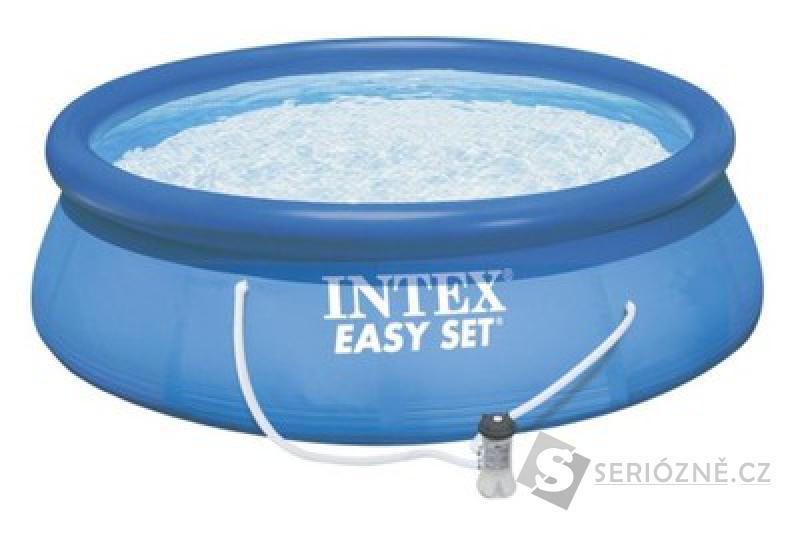 Bazén Intex Easy s filtrací 396 x 84 cm