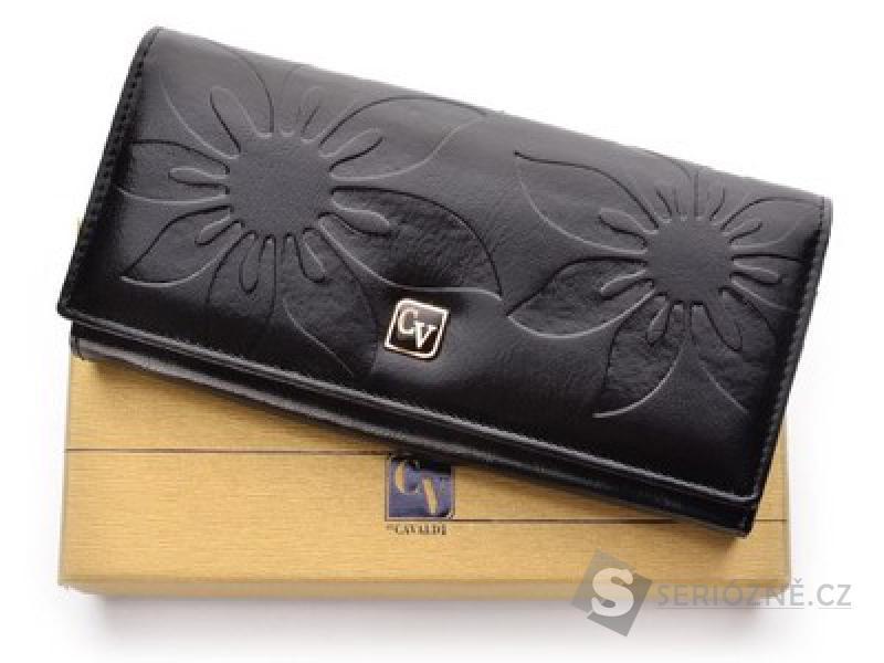 Kožená dámská peněženka Cavaldi