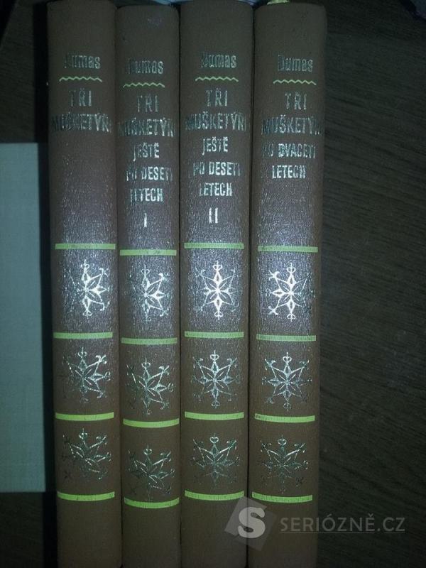 Čtyři knihy Tři mušketýři