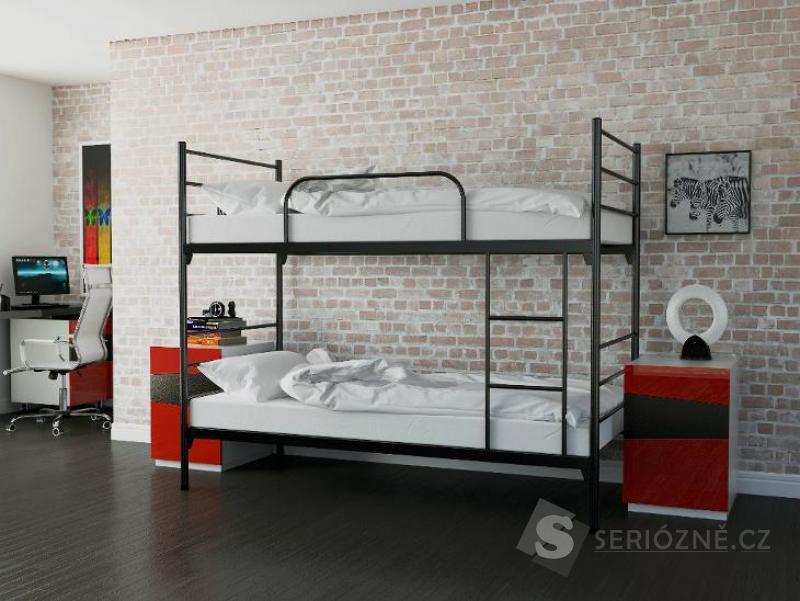 Rozkládací patrová postel
