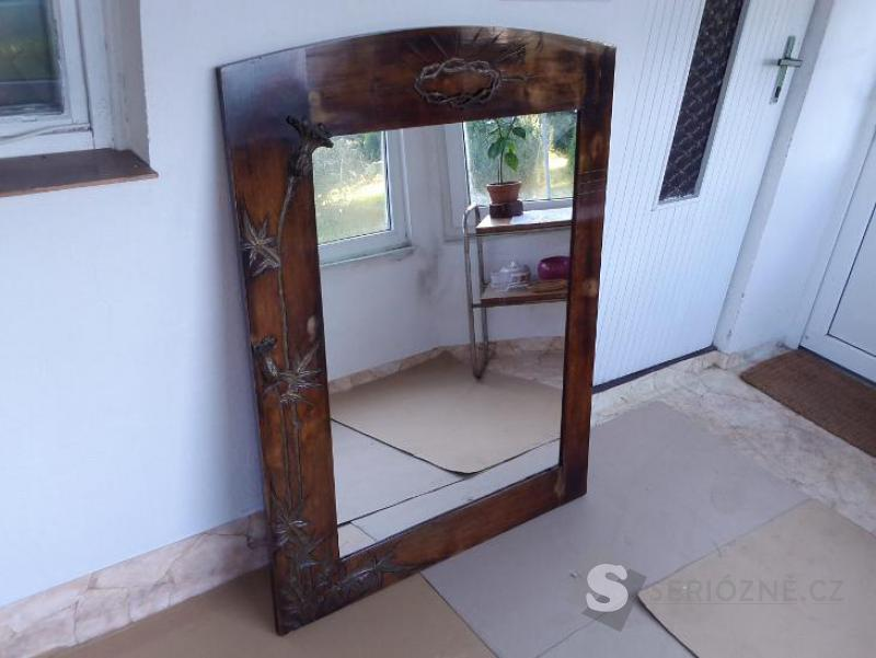 Zrcadlo - starožitné