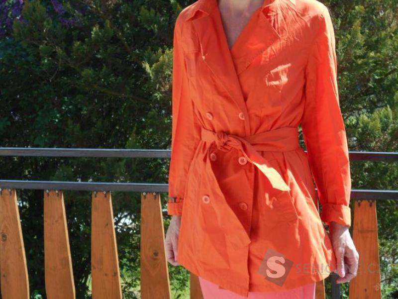 Plátěný kabát