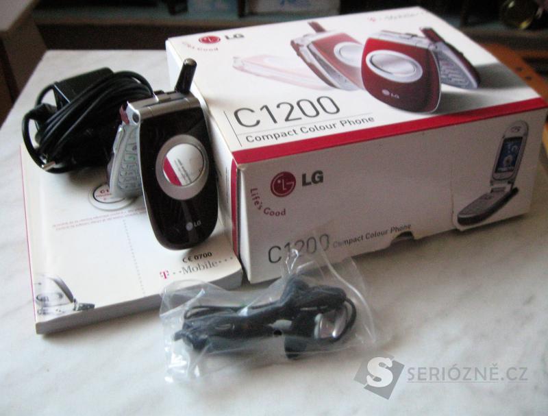 Mobil - LG - C1200 - VÍNOVÝ