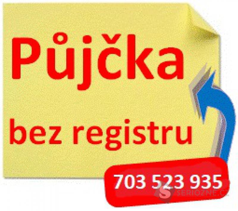 Nabídka půjček bez registru od 4,9% 703523935