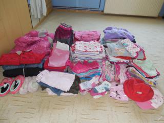 Velký balík - set dětského oblečení