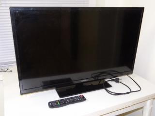 Televize 82 ORION se sat přijímačem - prasklý