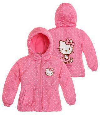 Hello Kitty - prošívaná bunda