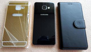 Nový Samsung Galaxy A3(2016) + 2 x pouzdro
