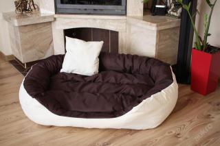 Velký pelech pelíšek pro psa 115 x 85 cm