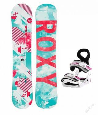 SNOWBOARD SET ROXY
