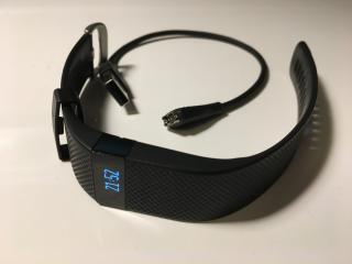 Fitbit Charge HR - chytrý náramek, sporttester (L)