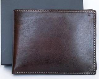 Luxusní kožená peněženka s krabičkou