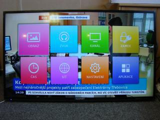 """Televize 50"""" Blaupunkt"""