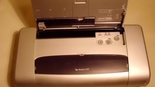 Přenosná inkoustová tiskárna HP