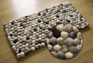 """Indický, ručně vyrobený """"Pebble"""" koberec"""