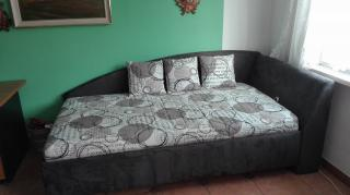 Rohová postel Andrew - pravá