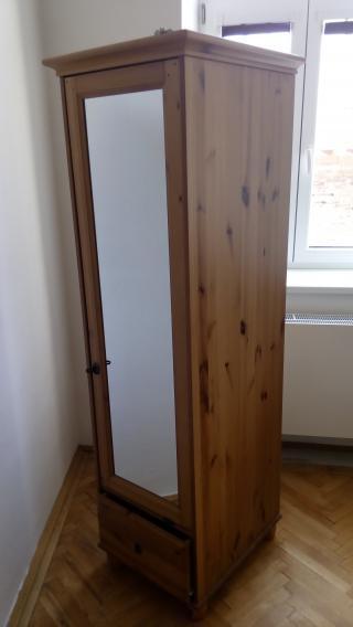 Šatní skříň se zrcadlem IKEA