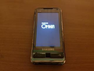 Samsung Galaxy Omnia (i900) - 5mpx, 8GB, 3.2