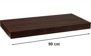 Nástěnná police STILISTA VOLATO - 90 cm