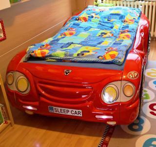 Dětská postel SLEEPCAR + zdravotní matrace