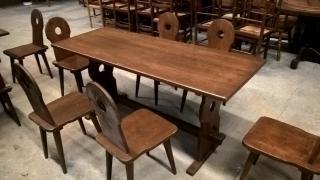 Stůl - masiv