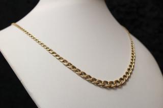 Luxusní zlatý řetízek