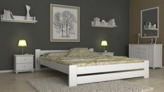 Dřevěná postel MALAGA