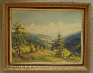 Obraz - Pohled do hor