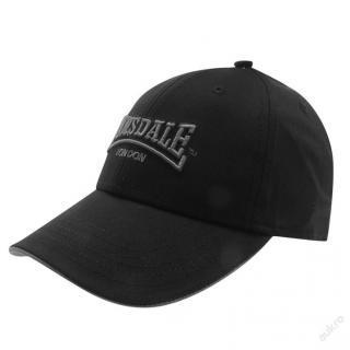 Černá kšiltovka Lonsdale
