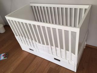 Ikea - dětská postýlka s matrací