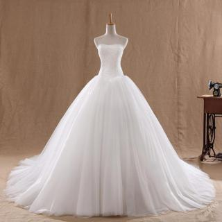 Svatební šaty šité na míru