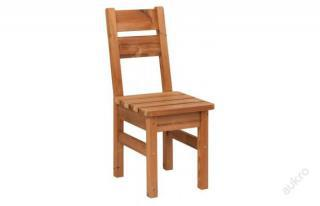 Židle - dřevěný zahradní nábytek z THERMOWOOD